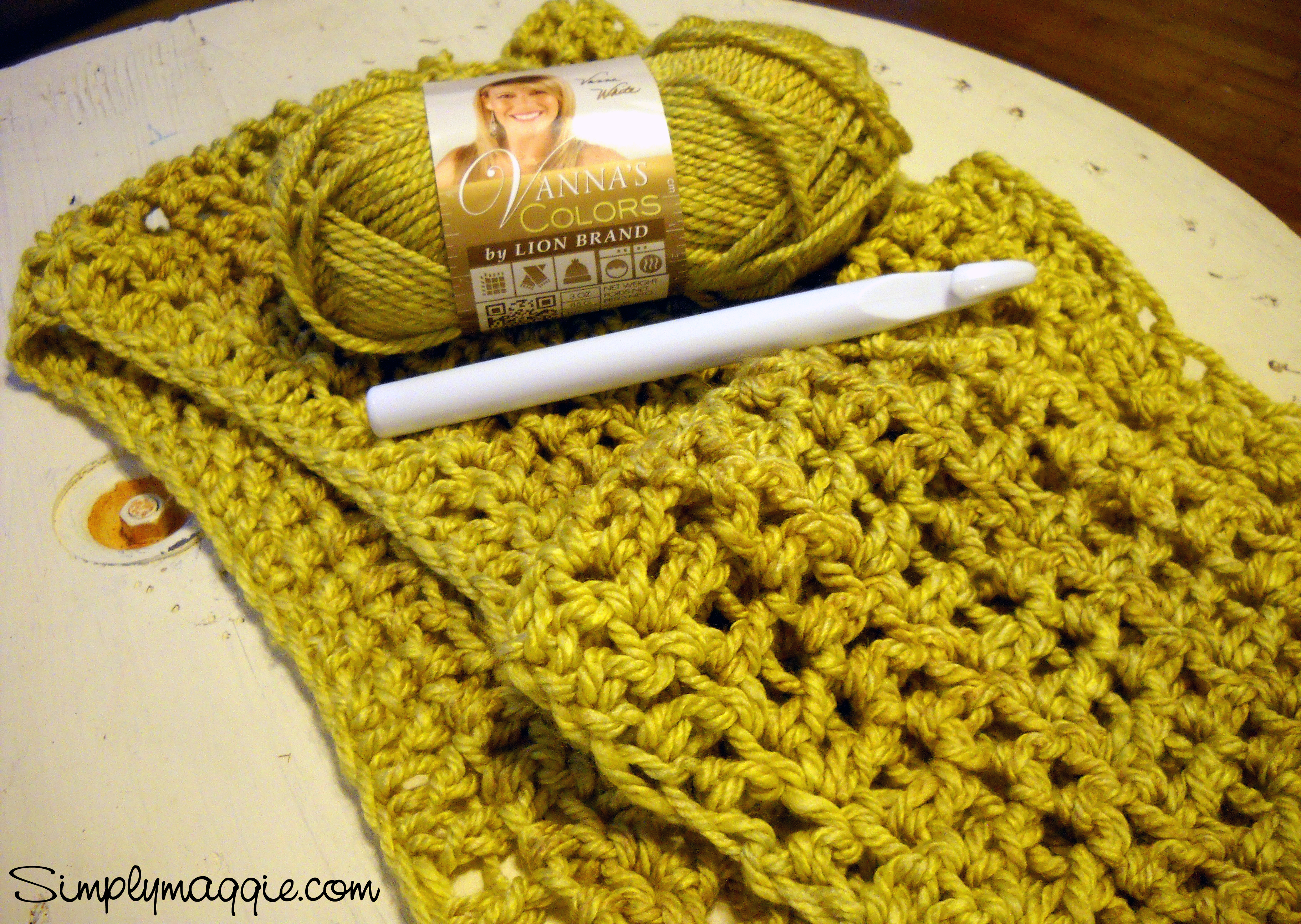 Crochet A Cozy Blanket For Beginners Simplymaggie Com
