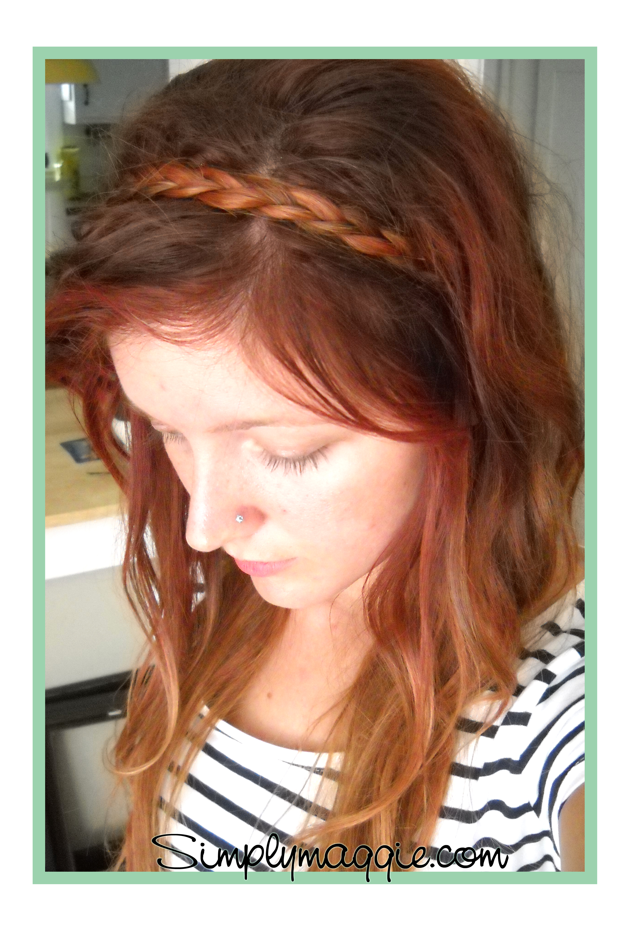 This Is So Easy, Yet Adds So Much To Any Hairstyle Do This With Your Hair  Up Or Down