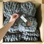 That day I knit 9 blankets Im so happy withhellip