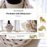 Todays release is the Button Cuff Infinity Scarf kit Myhellip
