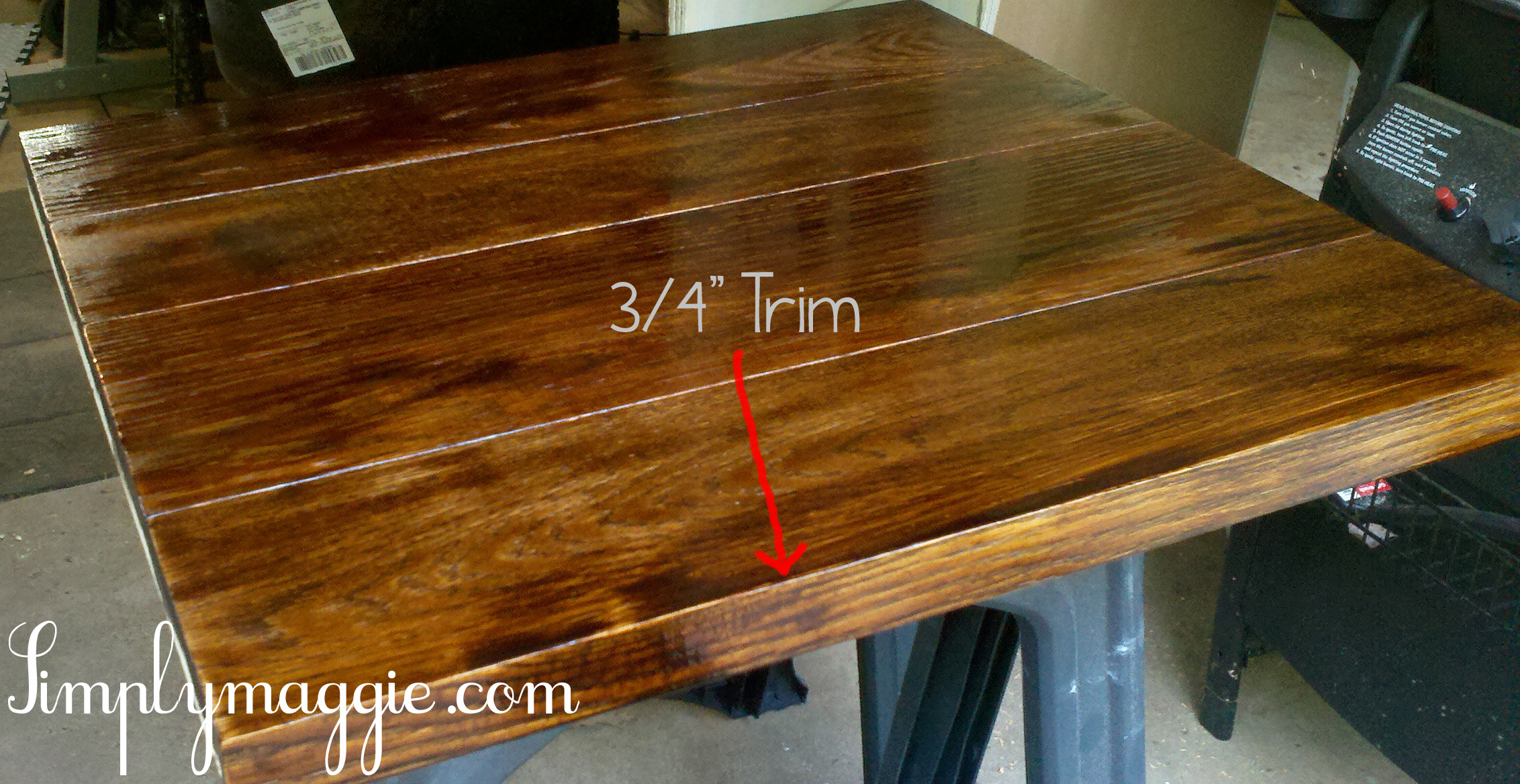DIY Wide Plank Butcher Block Counter Tops SimplyMaggiecom : counters copy arrow from www.simplymaggie.com size 2264 x 1168 jpeg 1021kB