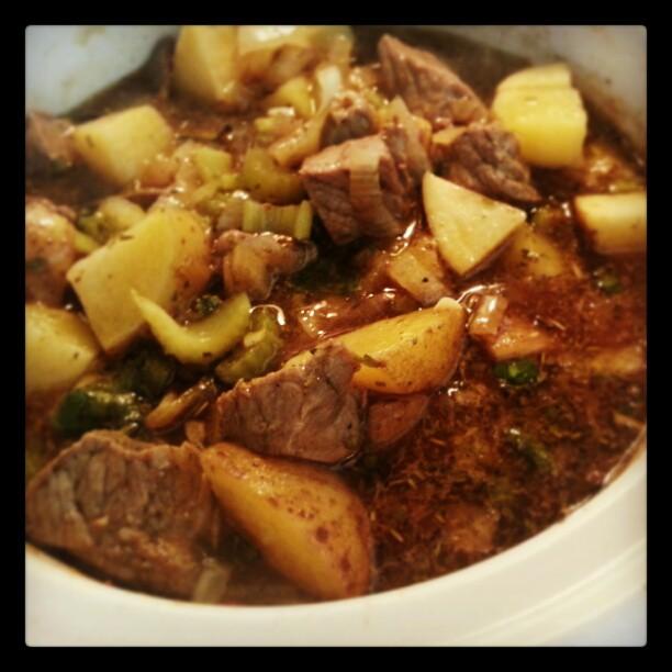 Slow Cooker Beef Stew | SimplyMaggie.com