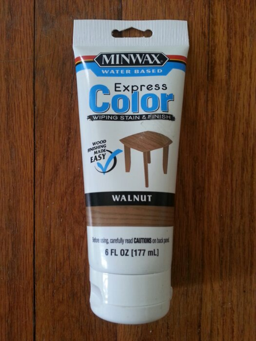 Minwax Express Color Walnut i Used Minwax Express Color