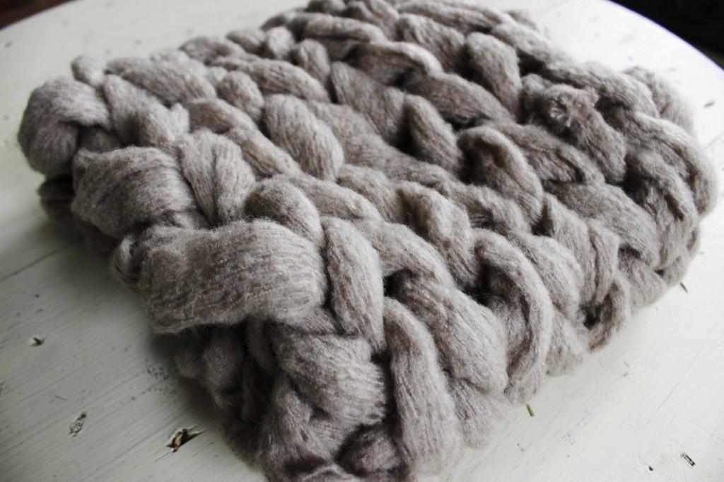 Diy 15 Minute Arm Knit Infinity Scarf Tutorial Simplymaggie Com
