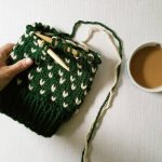 Knitting hats and drinking starbucks on this very gloomy Sundayhellip