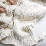 This cozy blanket pattern is available in my shop Ithellip