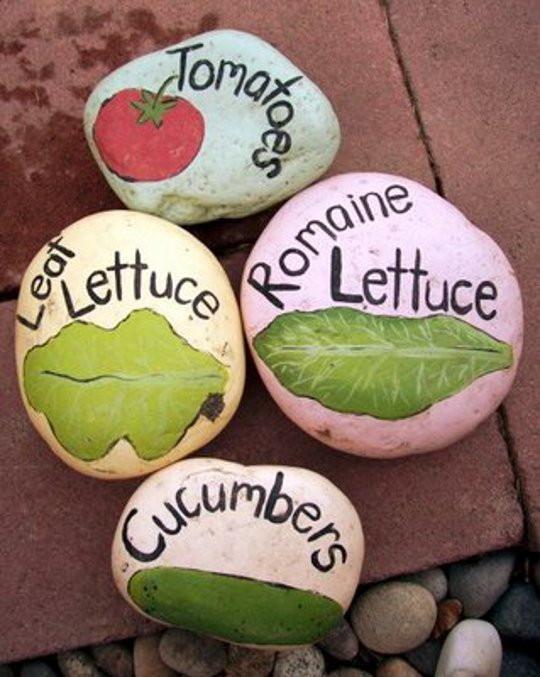 Decorate a rock! This could be fun:)