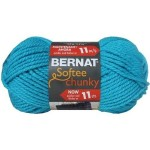 Bernat Chunky Yarn. I used the color Grey Heather