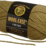 Lion Brand Wool Ease in the color Moss