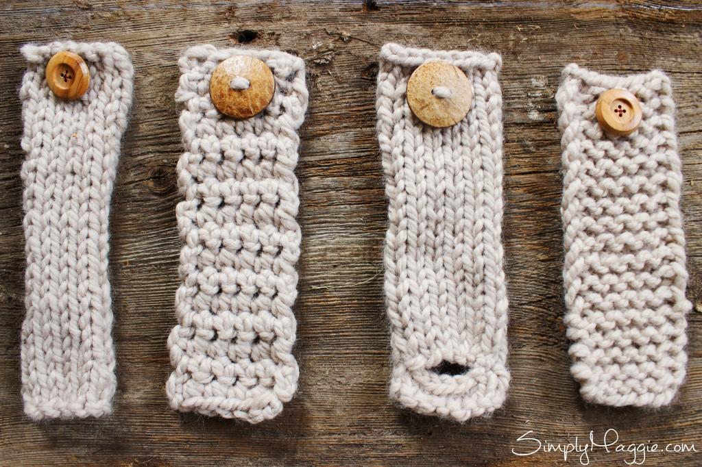 DIY Button Cuff for Infinity Scarf www.SimplyMaggie.com