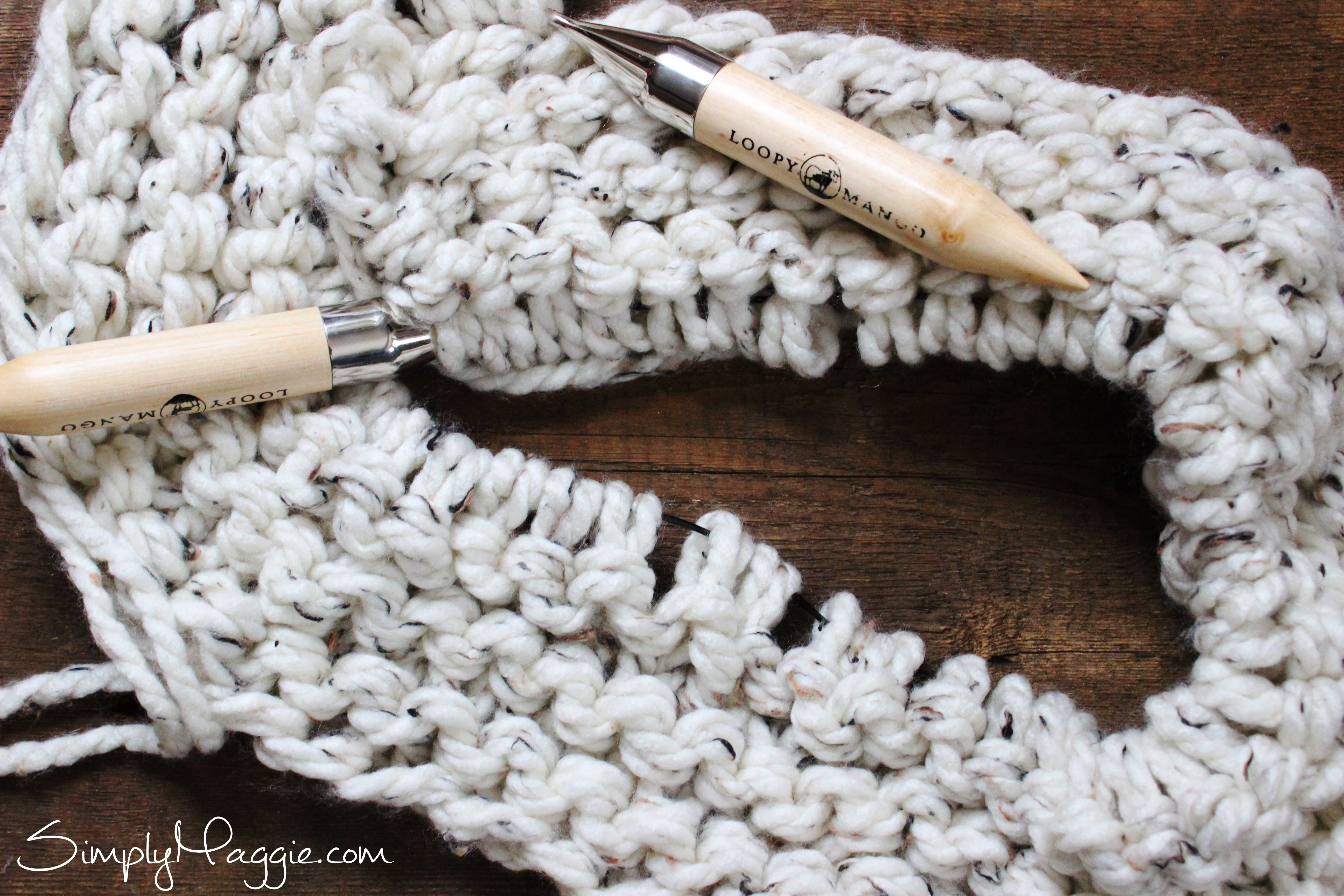 Lush knit Blanket by Simply Maggie | SimplyMaggie com