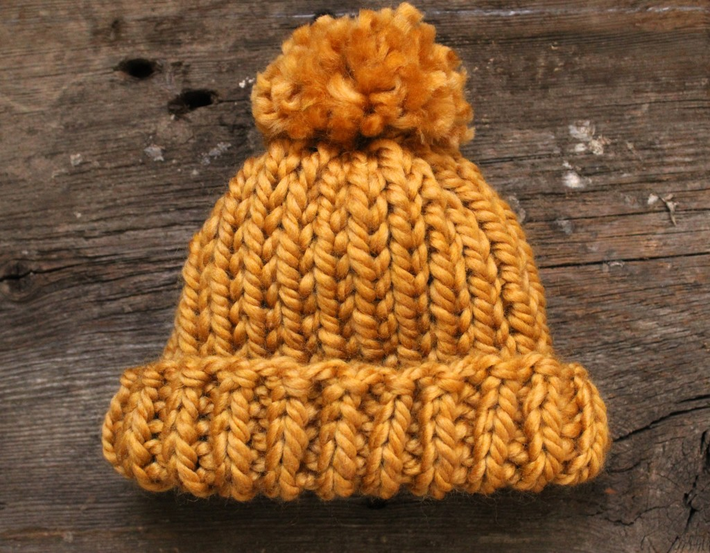 Simple Baby Hat Pattern - SimplyMaggie.com