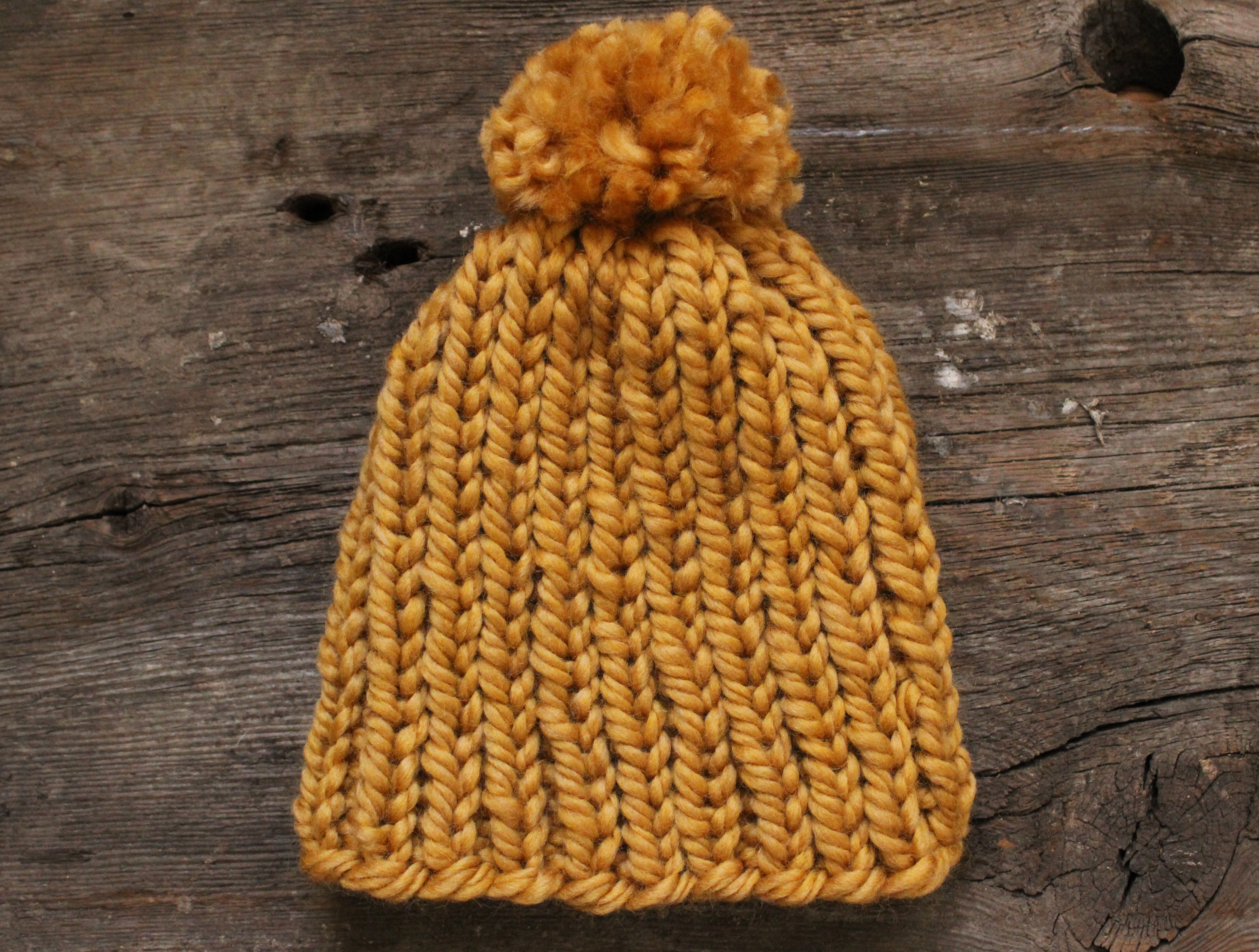how to make a hat with yarn easy