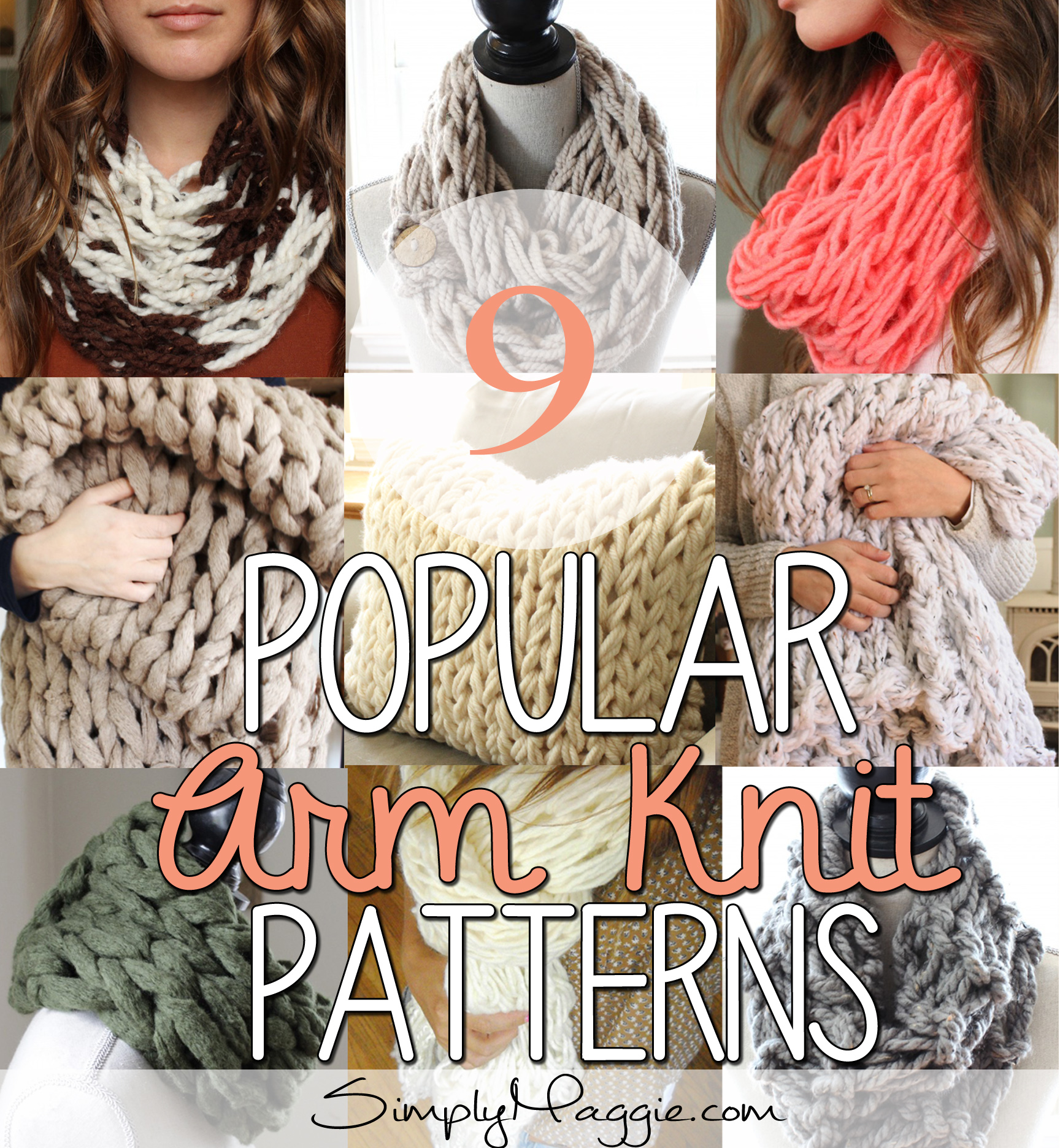 9 Popular Arm Knit Patterns