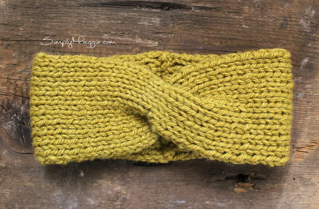 Turban Style Knit Headband | SimplyMaggie.com
