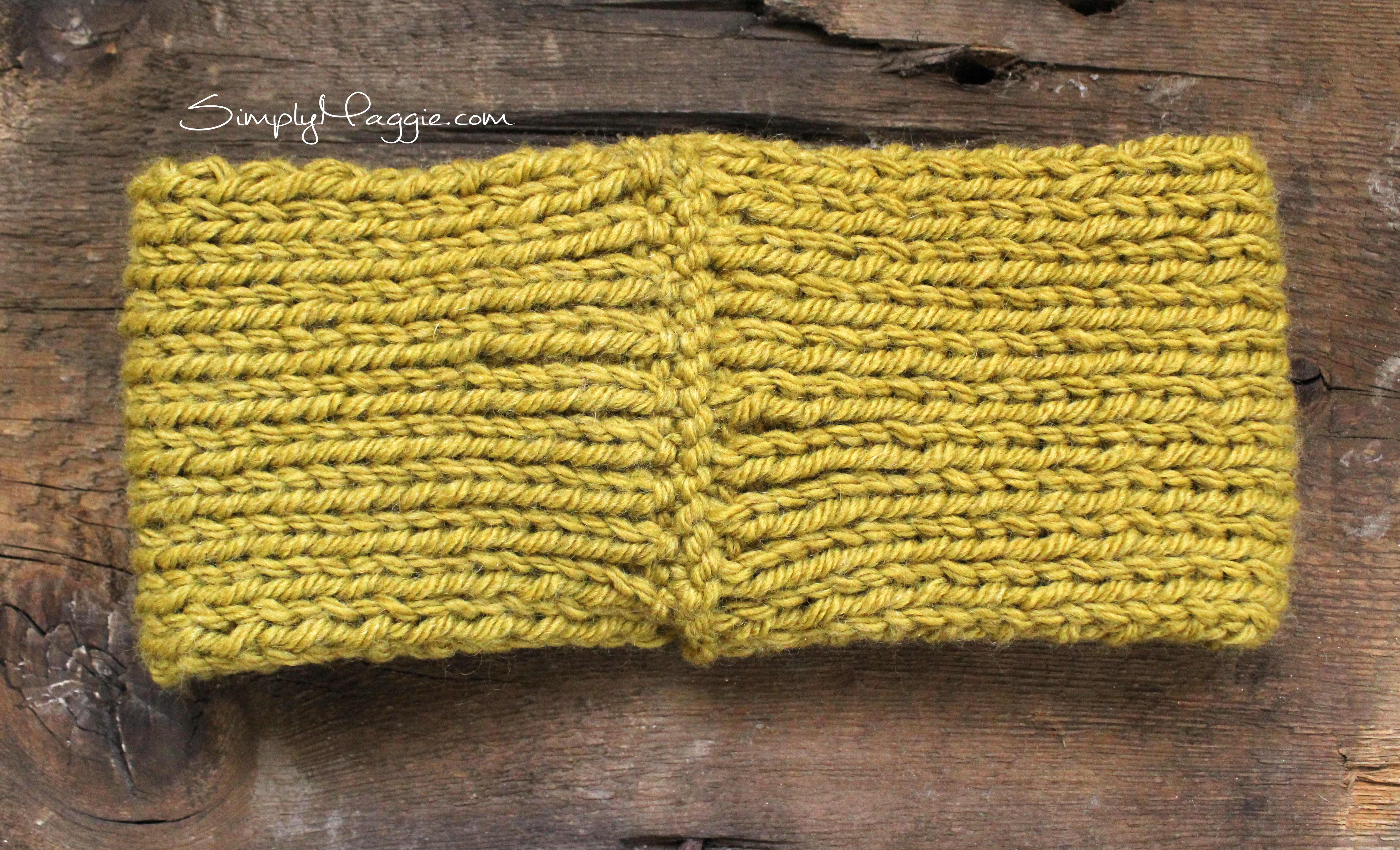 Turban Headband Knitting Pattern : Turban Style Knit Headband SimplyMaggie.com