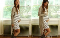 Fall Maternity Outfit - Simply Maggie