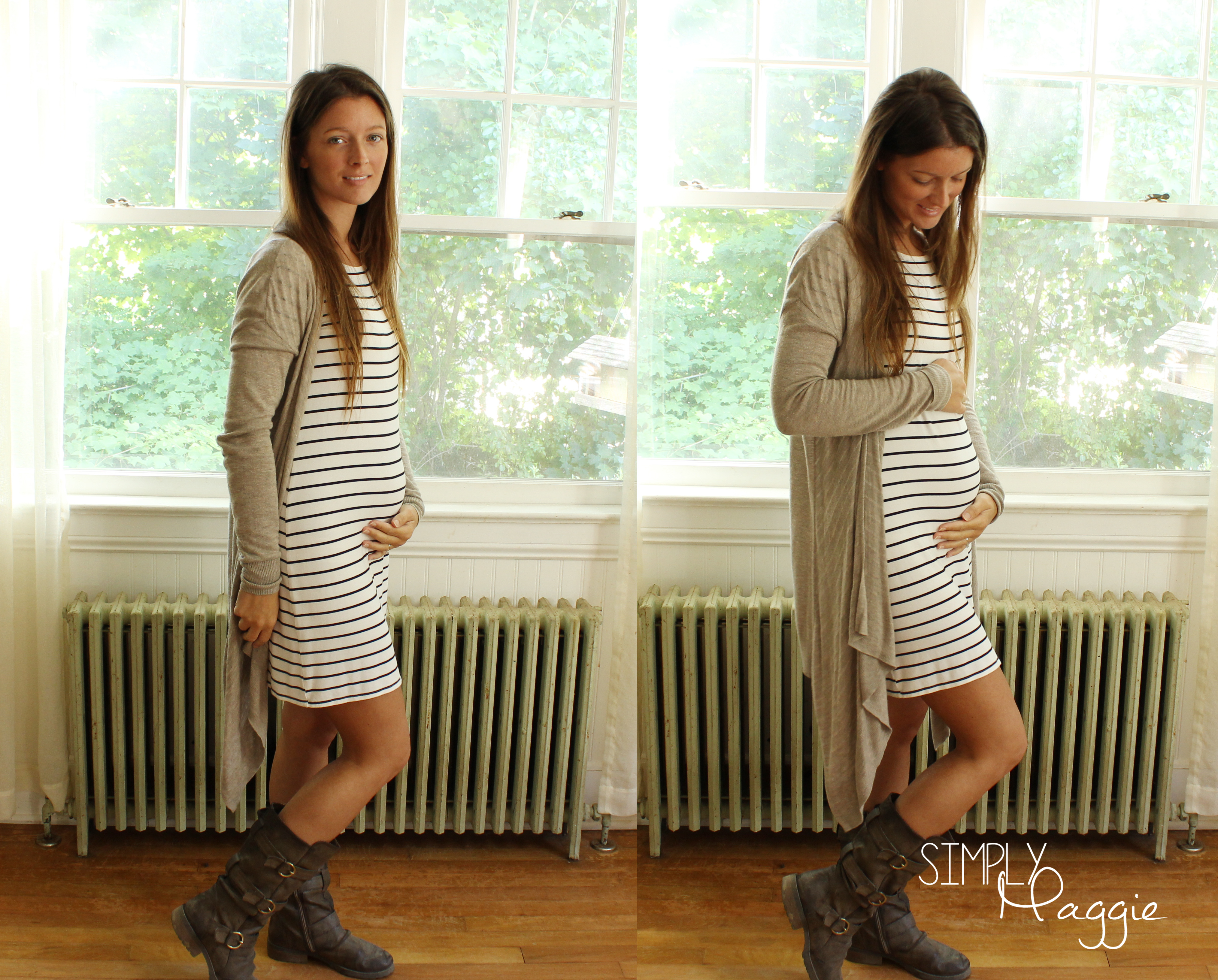 Fall Maternity Outfits | SimplyMaggie.com