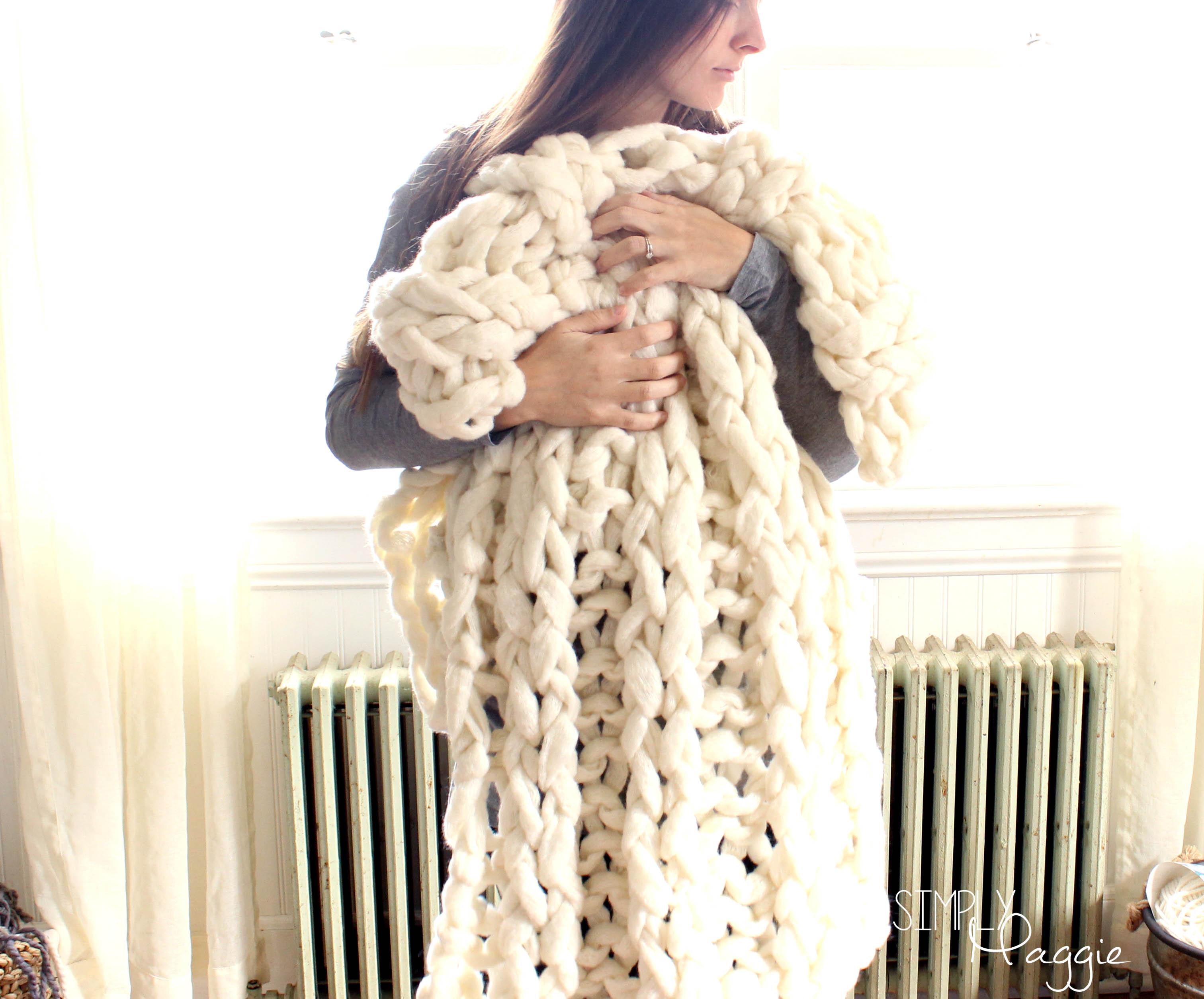 Big Stitch Blankets By Simply Maggie Simplymaggie Com