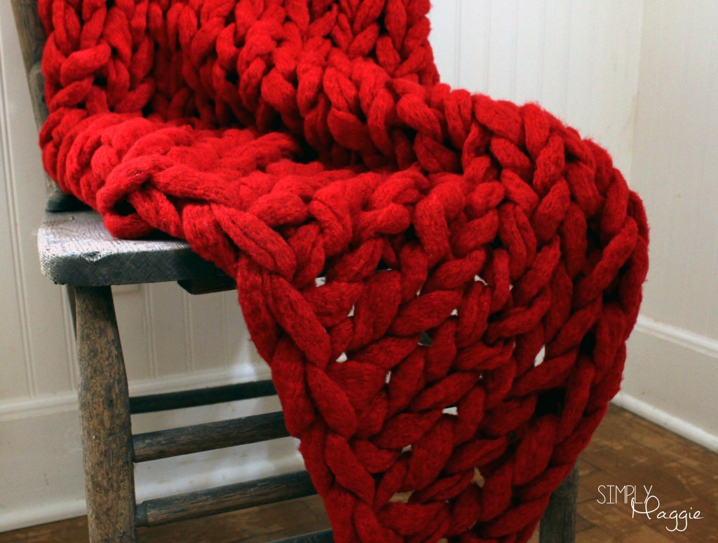 Knitting A Blanket With Arms : Arm knitting your questions answered simplymaggie