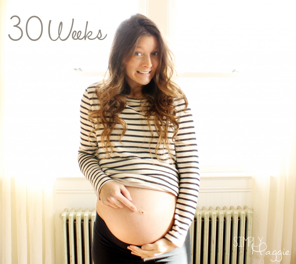 30 weeks belly button copy