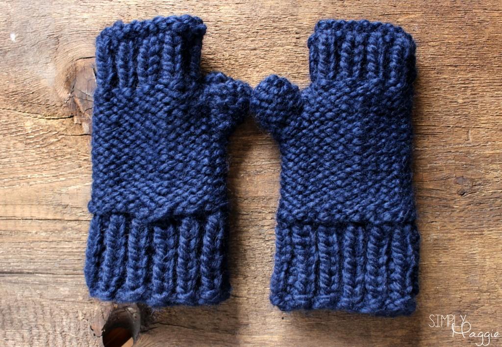 Blue Mittens 2