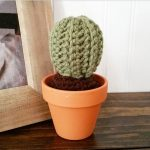 Another little cactus I crocheted over the weekend Pattern forhellip