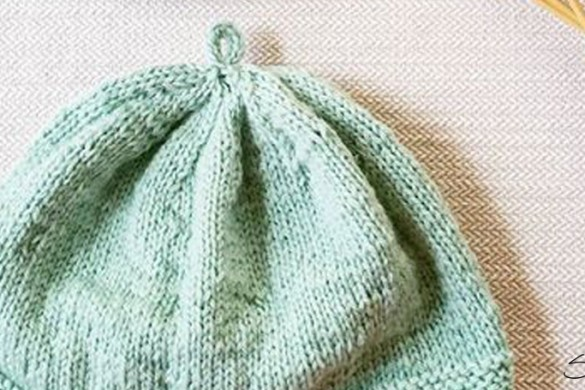 Knit Hat Patterns Not In The Round : How to Hand Crochet a Blanket in One Hour SimplyMaggie.com