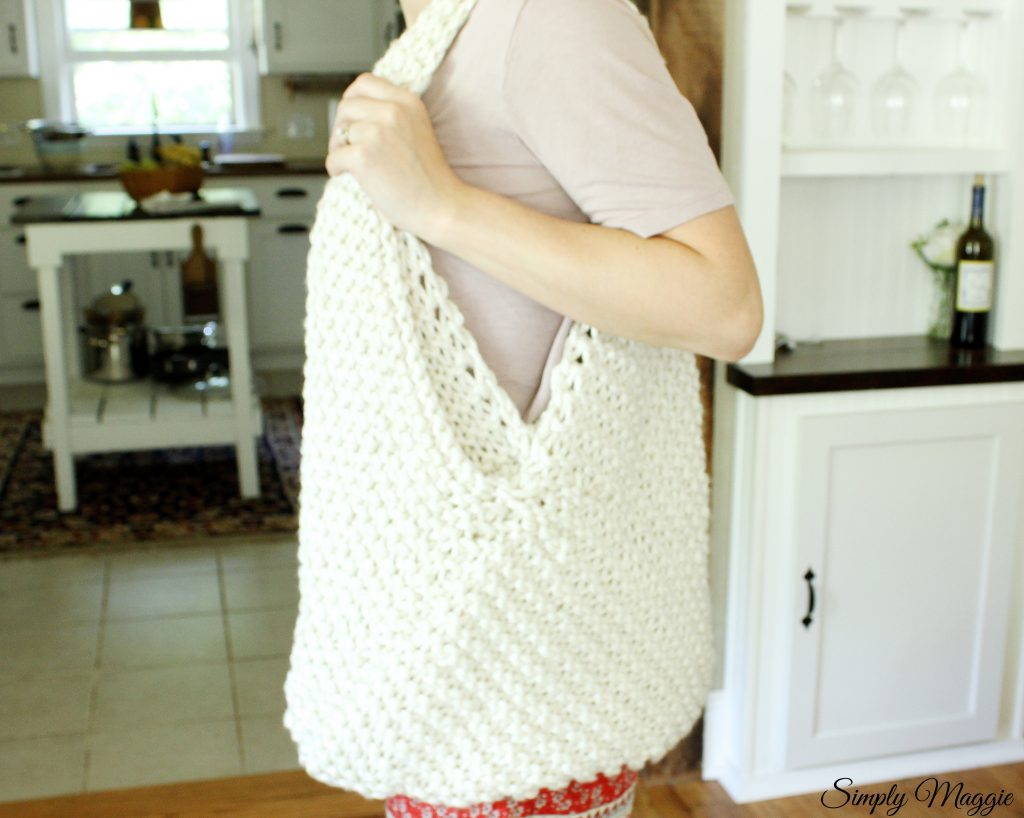 Large Knit Bag Pattern Simplymaggie Com