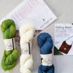 The knitcrate February main basket included this gorgeous yarn collectionhellip