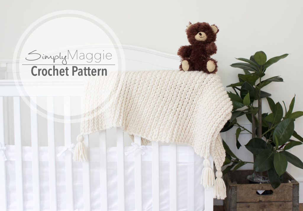 Listing photo toddler blanket