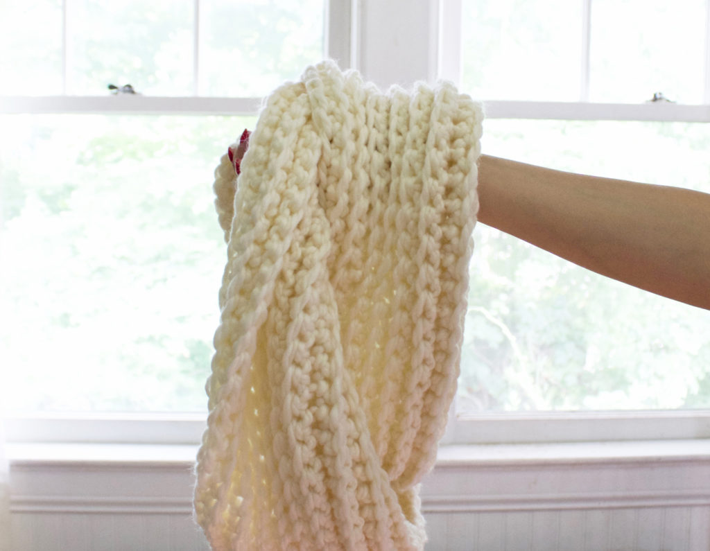 Ribbed Scarf 10