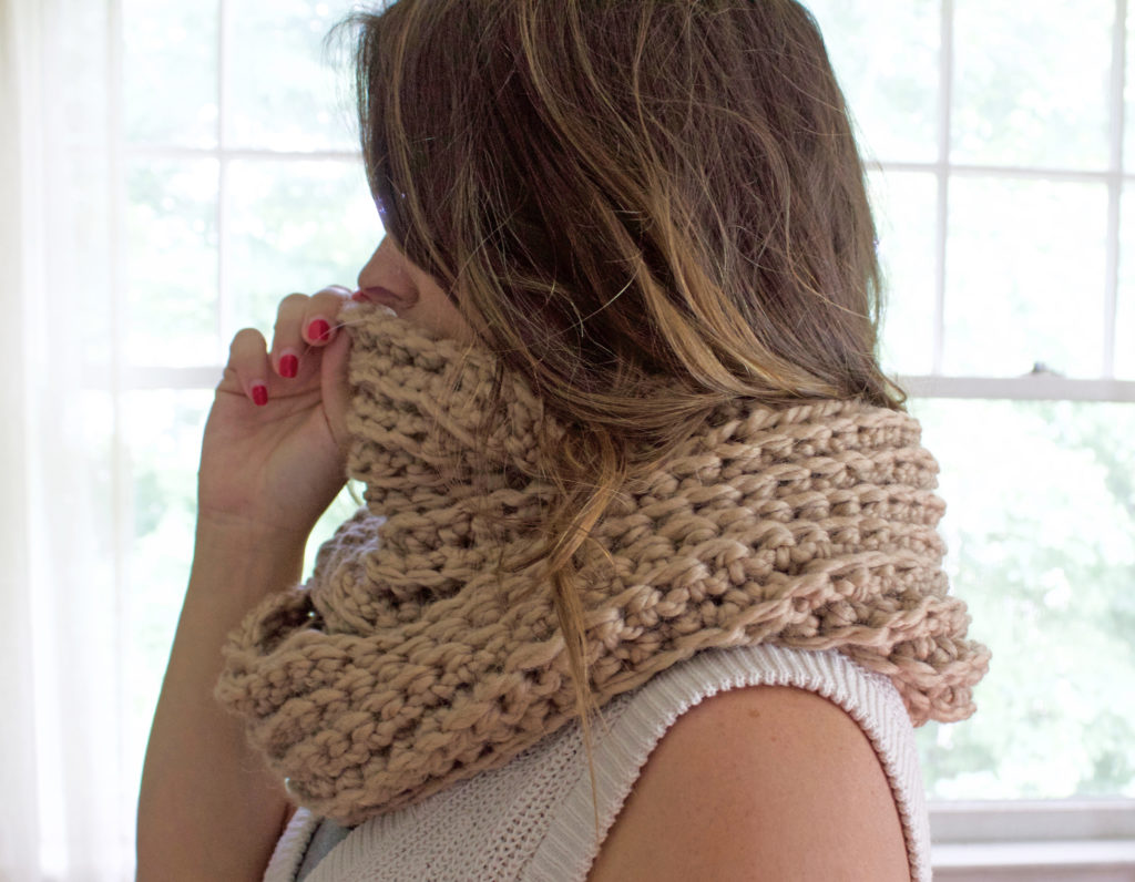 Ribbed Scarf 3