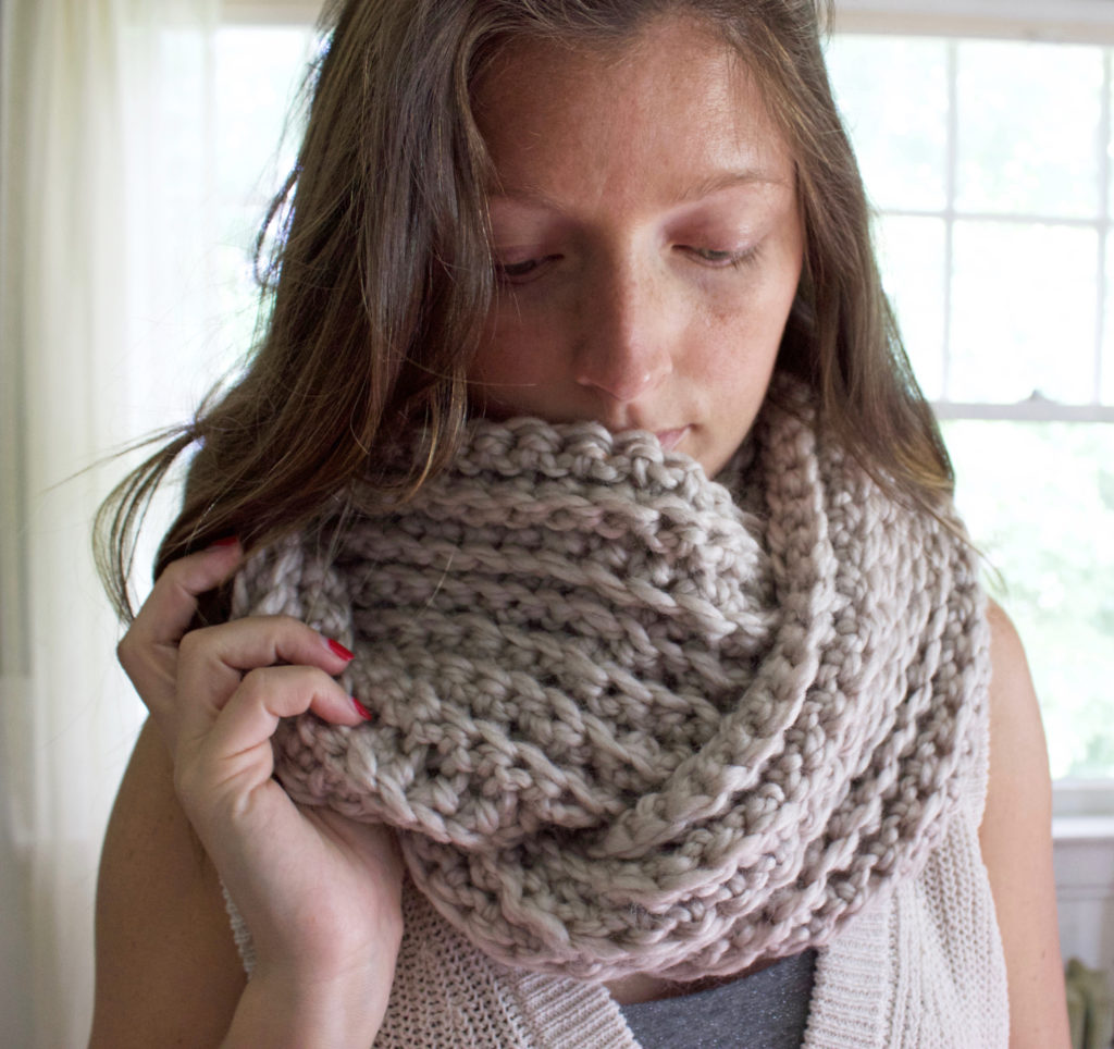 Ribbed Scarf 6