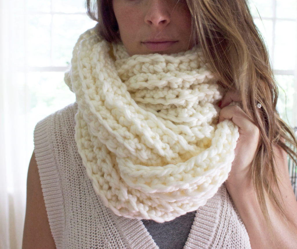 Ribbed Scarf 9
