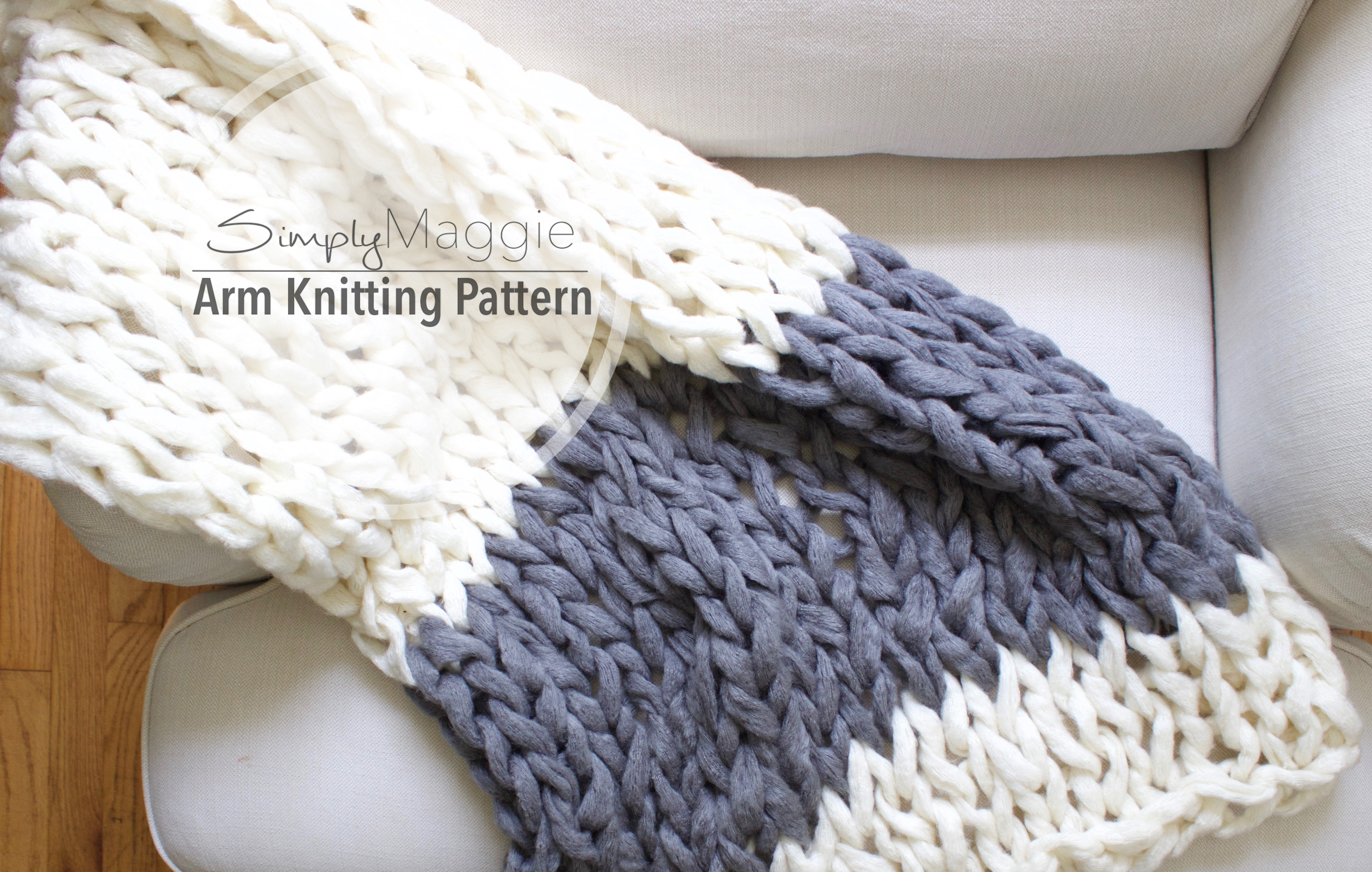 Knit and crochet simplymaggie color block throw pattern by simply maggie bankloansurffo Image collections